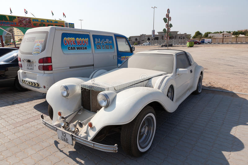 Mercedes-Benz Excalibur terenówka fotografia royalty free