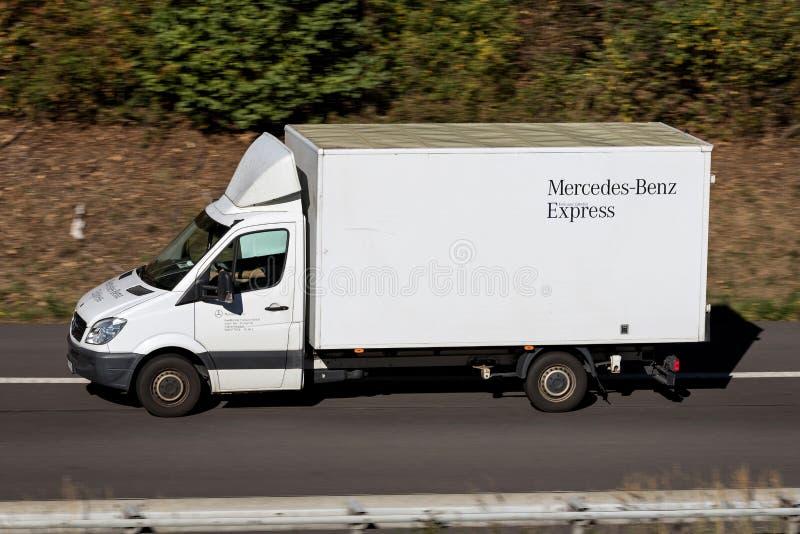 Mercedes-Benz Express Sprinter fotografia de stock