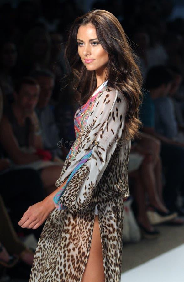 Mercedes-Benz Fashion Week Miami Beach imagens de stock