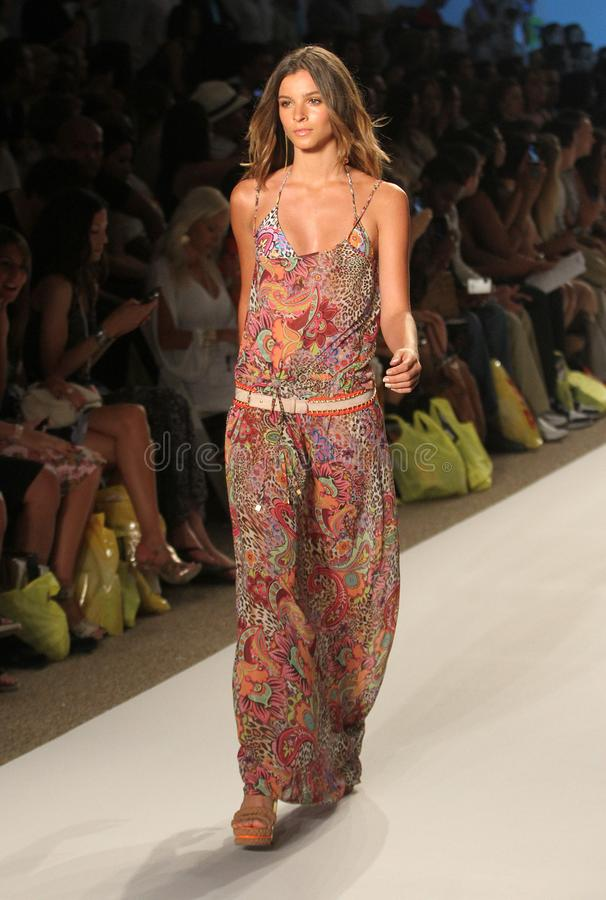 Mercedes-Benz Fashion Week Miami Beach fotos de archivo