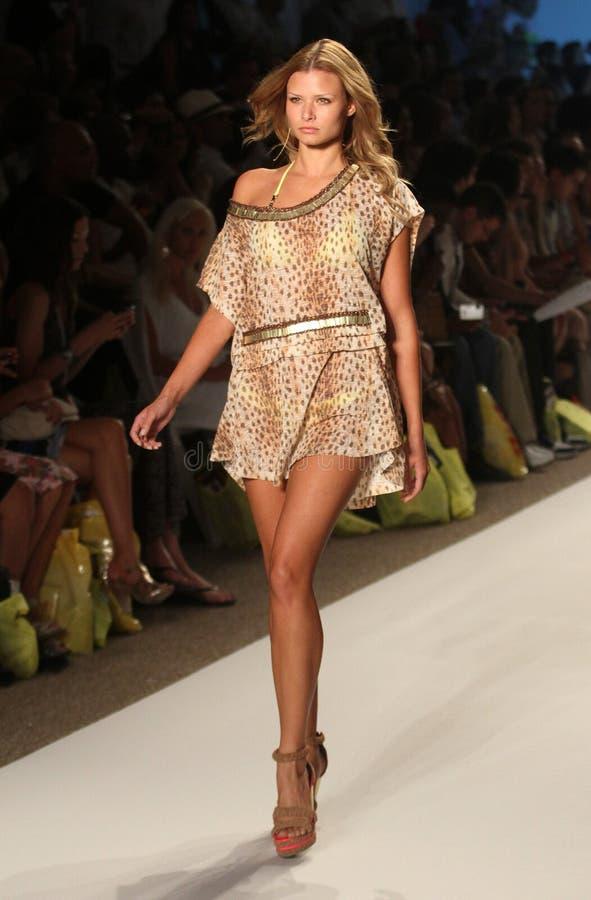 Mercedes-Benz Fashion Week Miami Beach foto de stock royalty free