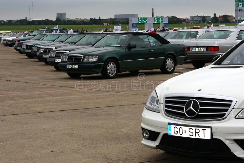 Mercedes Benz And Friends Berlin 2011 Editorial Photography