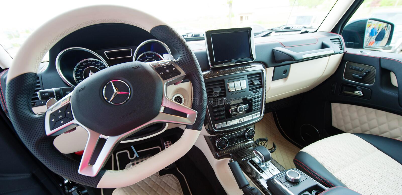 Mercedes Benz G-klasse, AMG, Interieur Redaktionelles Foto - Bild ...