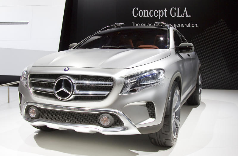 Mercedes Benz GLA images stock