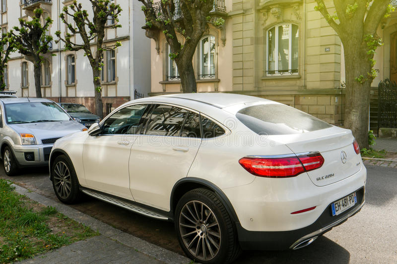 Mercedes Benz GLC 220d royalty free stock image
