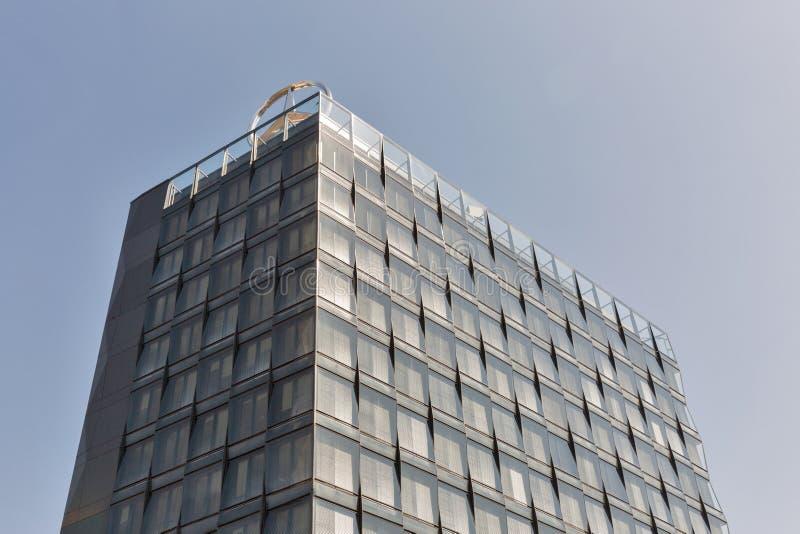 Mercedes-Benz-Hauptsitzgebäude in Berlin, Deutschland lizenzfreies stockbild