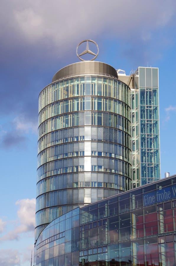 Mercedes-Benz Headquarters Munich Germany foto de stock