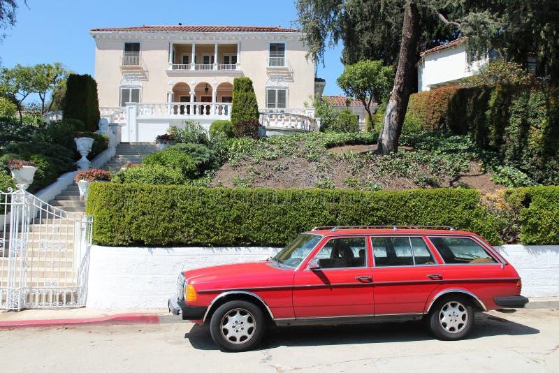 Mercedes-Benz in Hollywood lizenzfreie stockfotografie