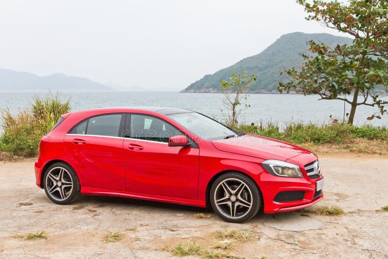 Mercedes-Benz klasa 2012 obraz royalty free