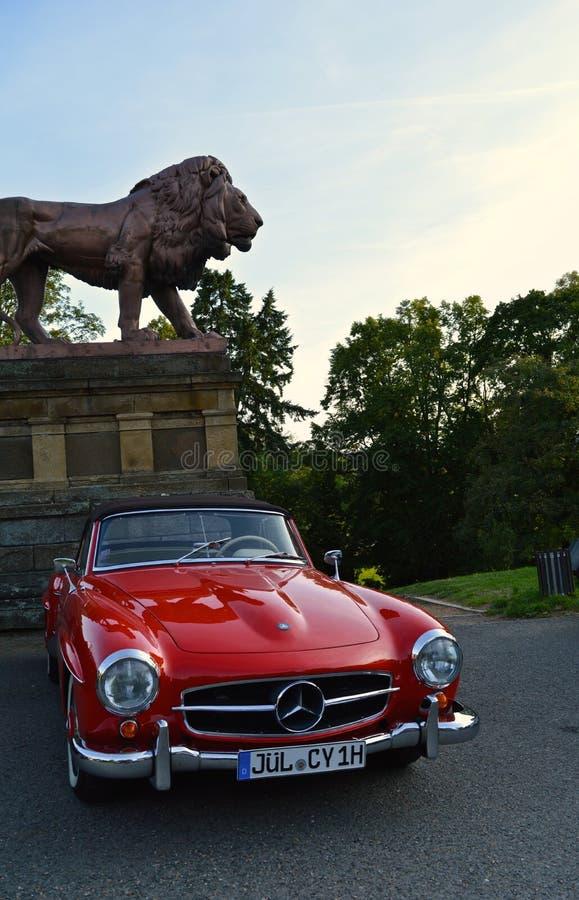 Mercedes-Benz klasyk zdjęcie royalty free