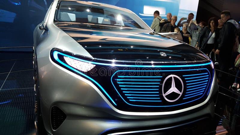 Mercedes Benz Limosine VIP limitata immagine stock