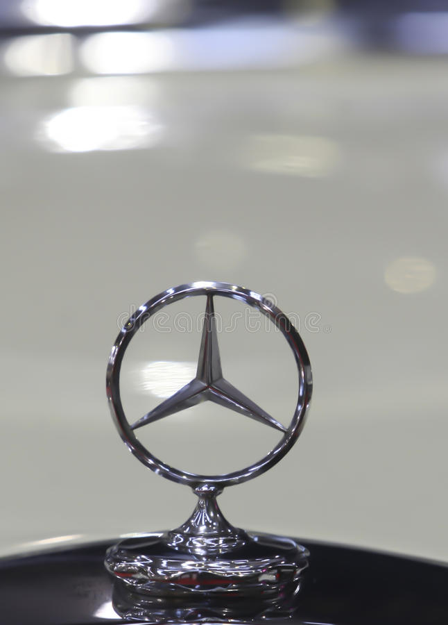 Mercedes-Benz Logo royalty free stock images