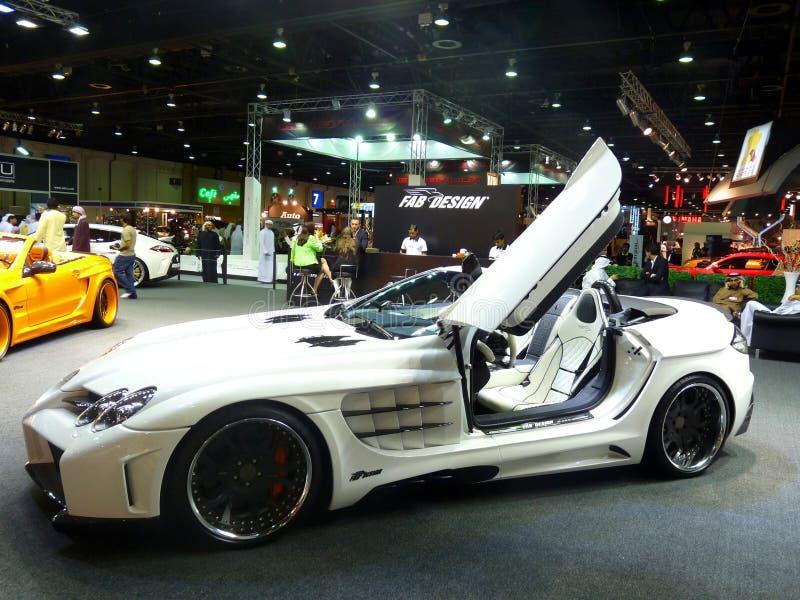 Mercedes Benz Luxury Car stock photography