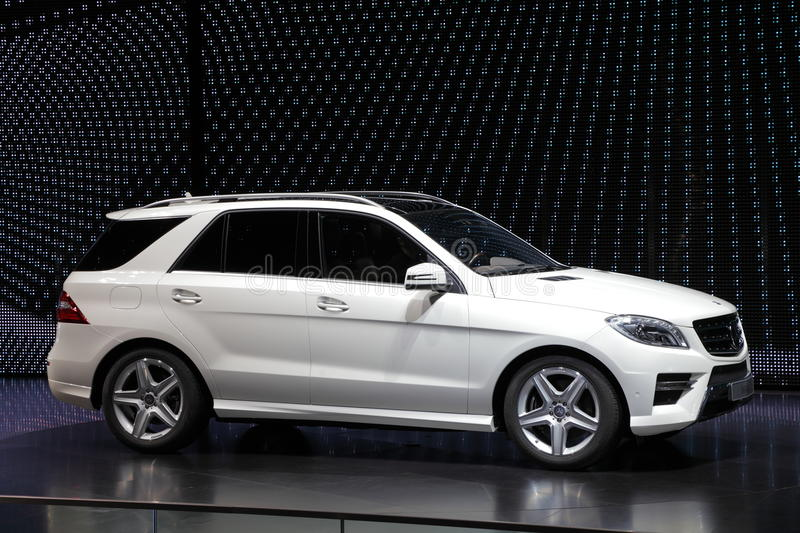 Download Mercedes Benz M-Class SUV editorial stock image. Image of automobil - 21325174
