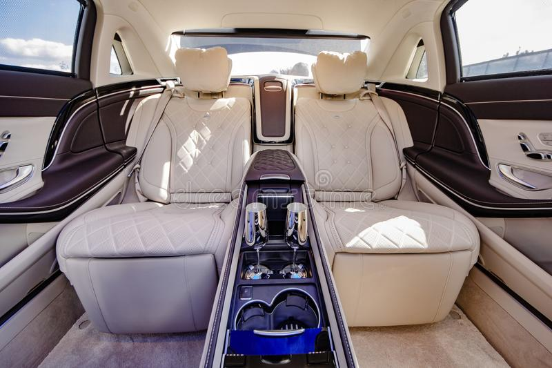 Mercedes-Benz Maybach 2017 stock foto's