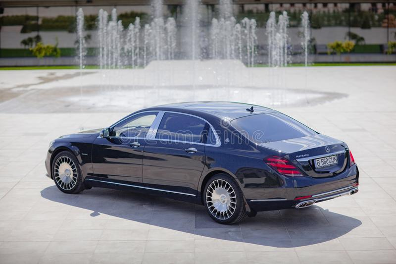 Mercedes-Benz Maybach 2017 immagini stock