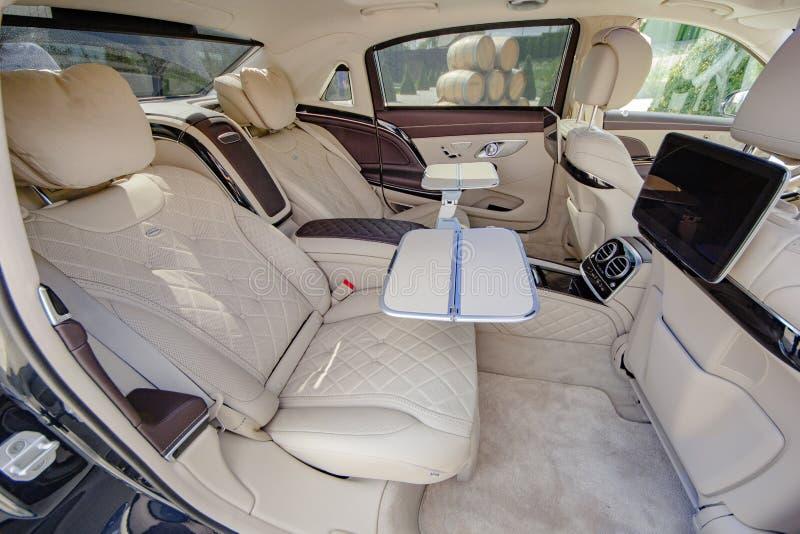 Mercedes Benz Maybach 2017 Interior, Rear Seats 2017 06 September Moldova