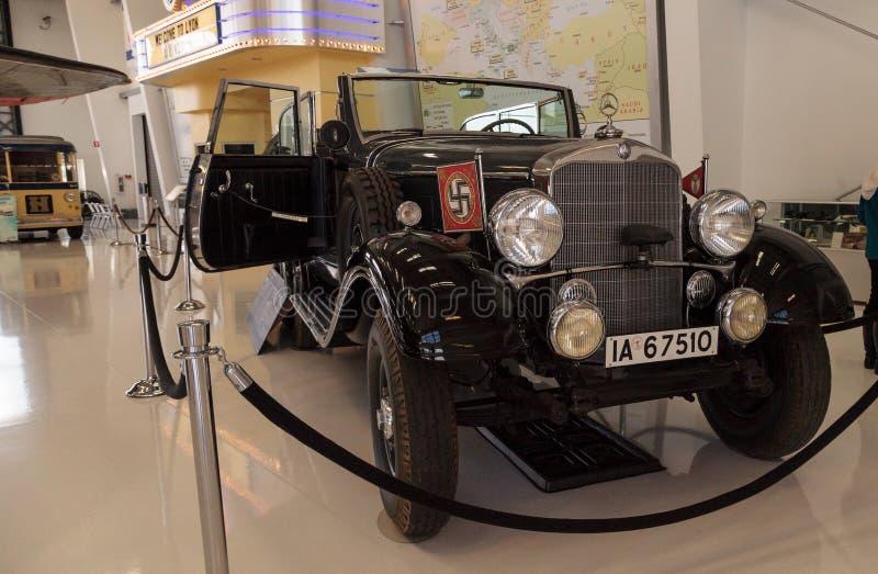 Mercedes-Benz Model anziana 1939 G4 Offener che visita una volta vagone che fotografia stock