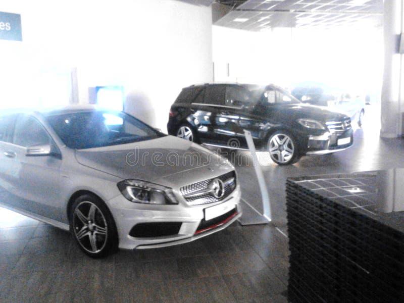 Mercedes-Benz modele obraz stock