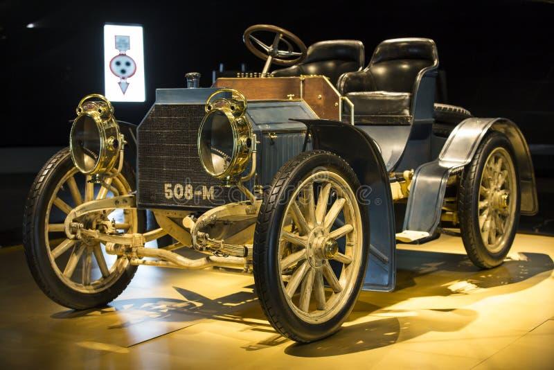 Mercedes Benz Museum stock foto's