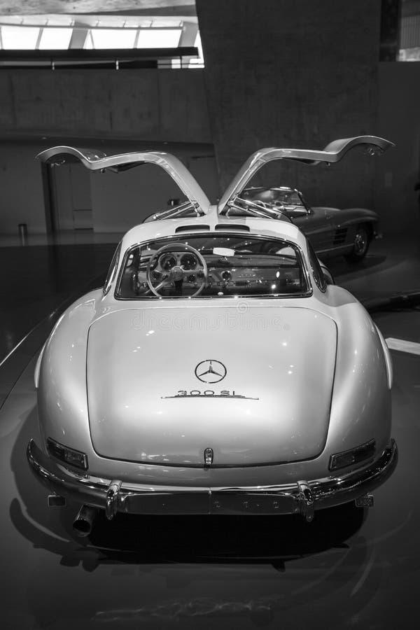 Mercedes Benz Museum image stock