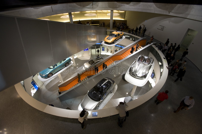 Mercedes Benz Museum Editorial Image