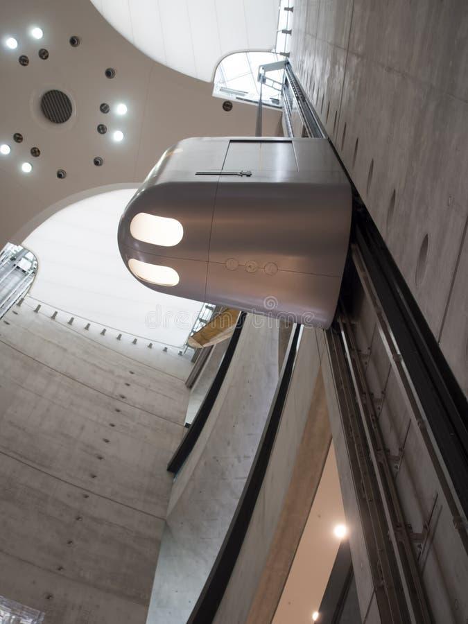 Mercedes-Benz Museum atrium stock photo