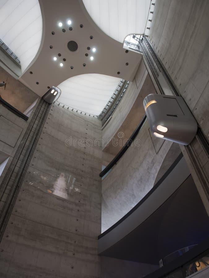 Mercedes-Benz Museum atrium royalty free stock images