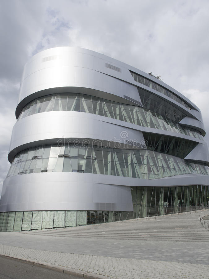 Mercedes-Benz Museum building royalty free stock image