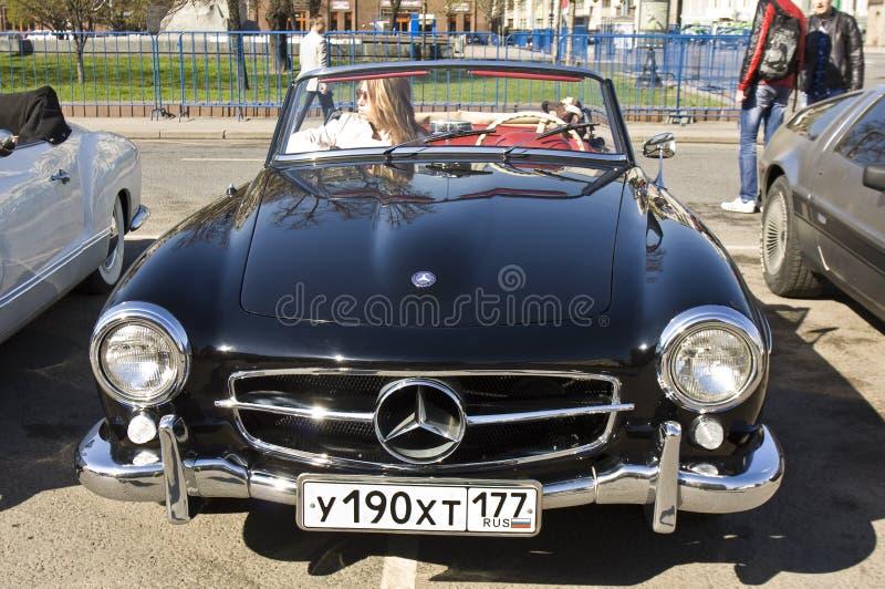 Mercedes Benz retro foto de stock royalty free