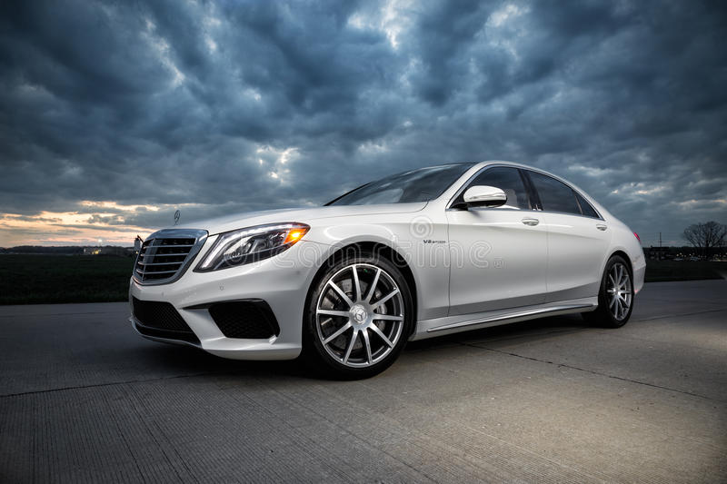 2015 Mercedes-Benz S63 AMG. 2015 Mercedes Benz S63 AMG with a twin turbo V8