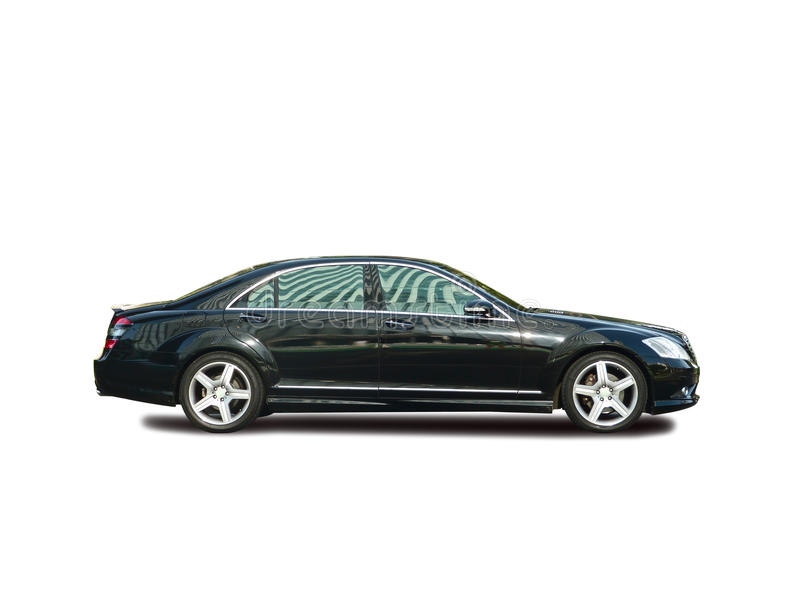 the mercedes-benz s class stock photography