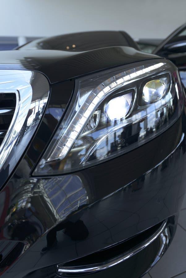 Mercedes Benz S-class, model 2013 stock image