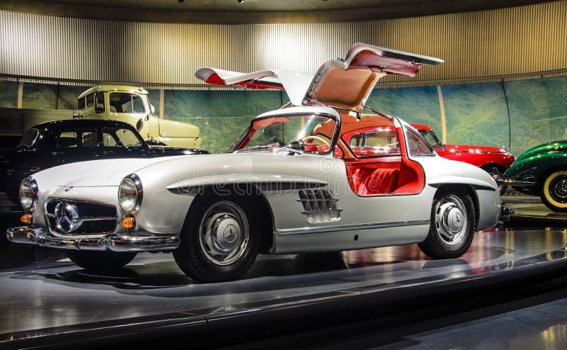 Mercedes-Benz 300SL immagini stock