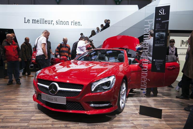 Mercedes Benz SL 500 royalty free stock photo