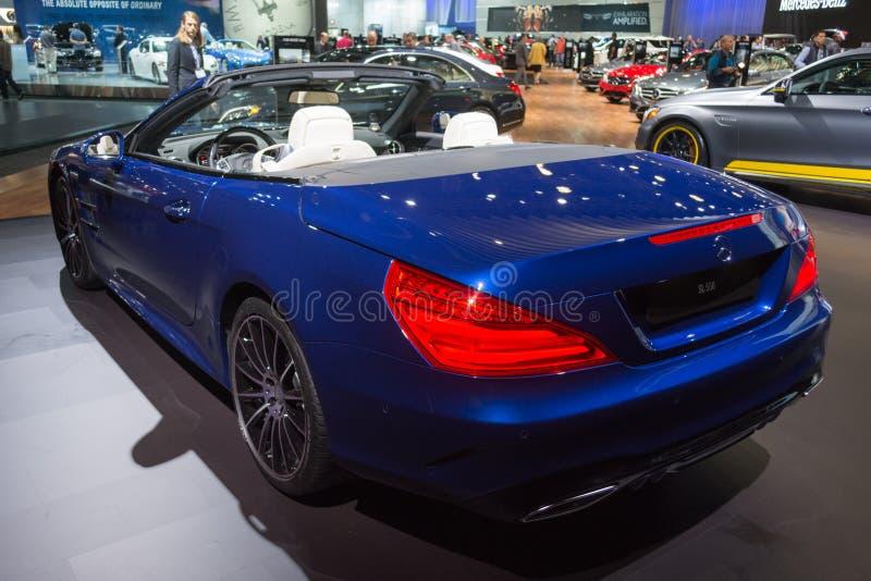 Download Mercedes-Benz SL550 εκδοτική στοκ εικόνα. εικόνα από σύμβαση - 62703229