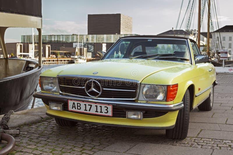 Mercedes Benz SL R107 fotografía de archivo libre de regalías