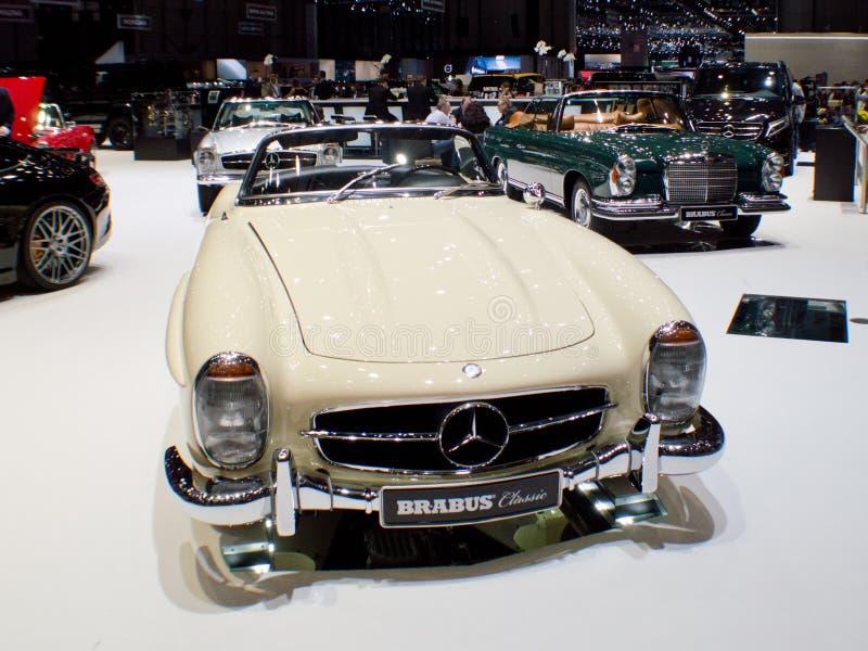 Mercedes-Benz 300SL terenówka przy Genewa 2016 obrazy royalty free