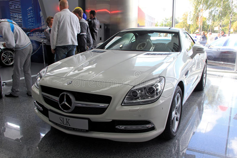 Mercedes Of Mobile >> Mercedes Benz Slk Class Editorial Photo Image Of Mobile 37459416