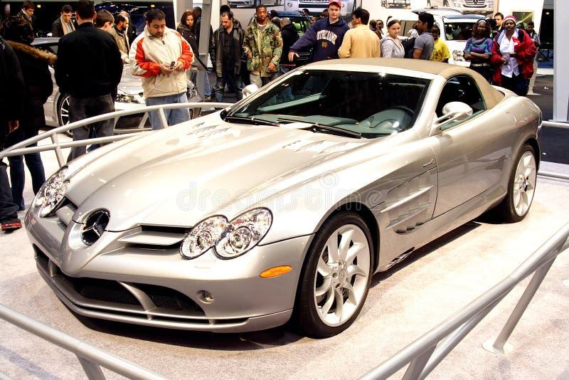Mercedes Benz SLR McLaren royalty free stock photography