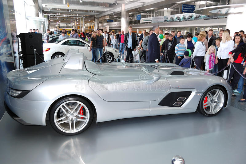 Mercedes-Benz SLR McLaren Stirling Moss royalty free stock photography