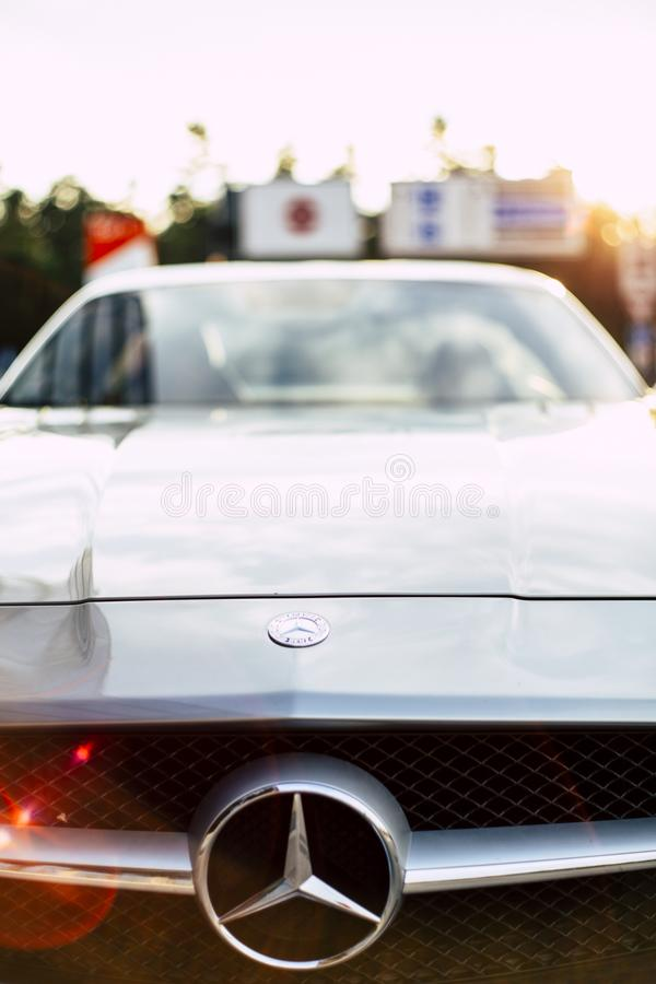 Mercedes-Benz SLS AMG royalty free stock images