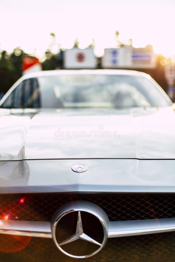 Mercedes-Benz SLS AMG stock image