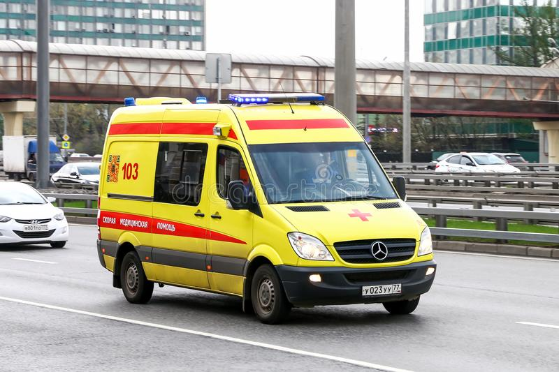 Mercedes-Benz Sprinter στοκ φωτογραφία με δικαίωμα ελεύθερης χρήσης