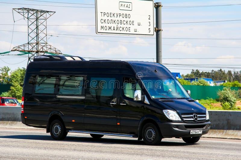 Mercedes-Benz Sprinter στοκ εικόνες με δικαίωμα ελεύθερης χρήσης