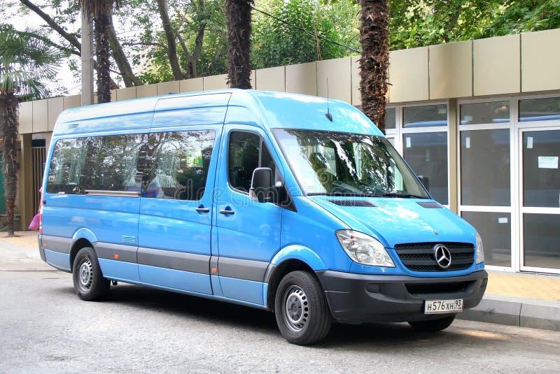 Mercedes-Benz Sprinter foto de archivo libre de regalías
