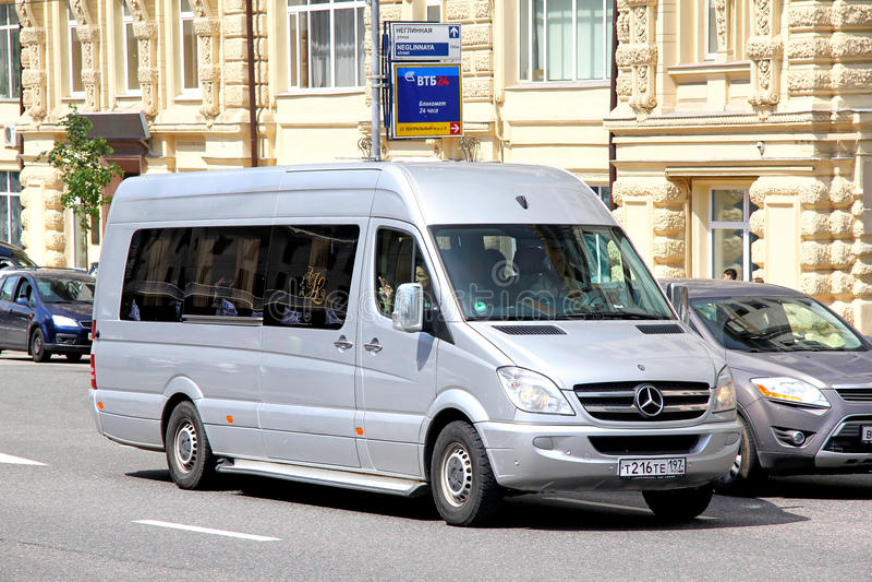 Mercedes-Benz Sprinter stock foto
