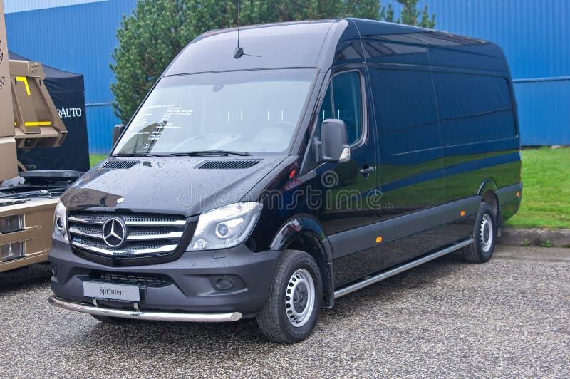 Mercedes-Benz Sprinter stock afbeeldingen