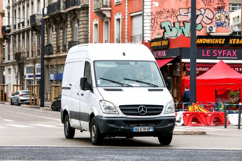 Mercedes-Benz Sprinter fotografía de archivo libre de regalías