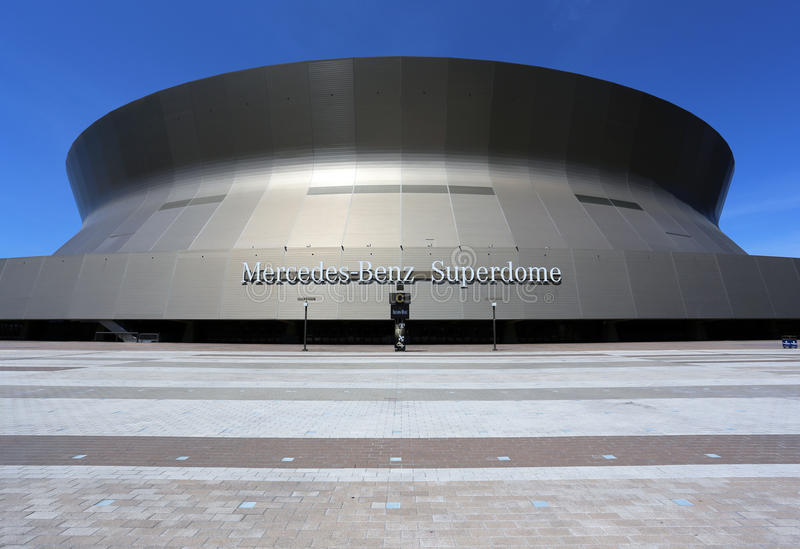 Mercedes-Benz Superdome Editorial Stock Image - Image ...